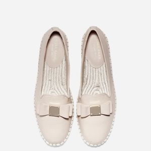 Cole Haan Tali Bow Espadrille in Nude size 9